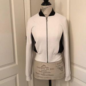 Tahari bomber jacket